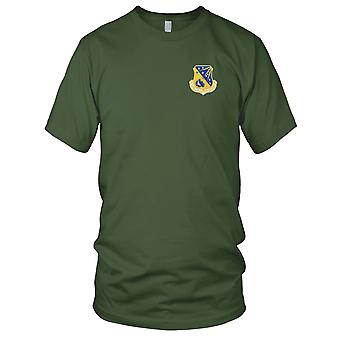 USAF Airforce - 328th Fighter Group geborduurd Patch - Mens T Shirt