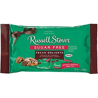 Russell Stover Chocolate Sugar Free Pecan Delights 10 oz Bag