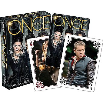 Once Upon A Time Scenes set of 52 playing cards (+ jokers)    (nm)