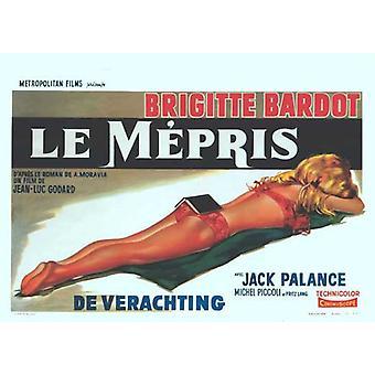 Contempt Movie Poster (11 x 17)