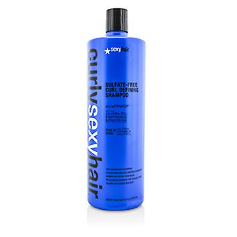 Sexy Hair Concepts Curly Sexy Hair Sulfate-Free Curl Defining Shampoo (Curl Nourishing) 1000ml/33.8oz