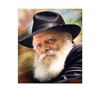 Rebbe Poster Print by Lev Sheitman (14 x 17)