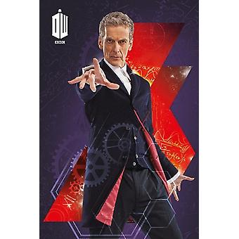 Doctor Who - 12th Doctor Peter Capaldi Poster Poster Print