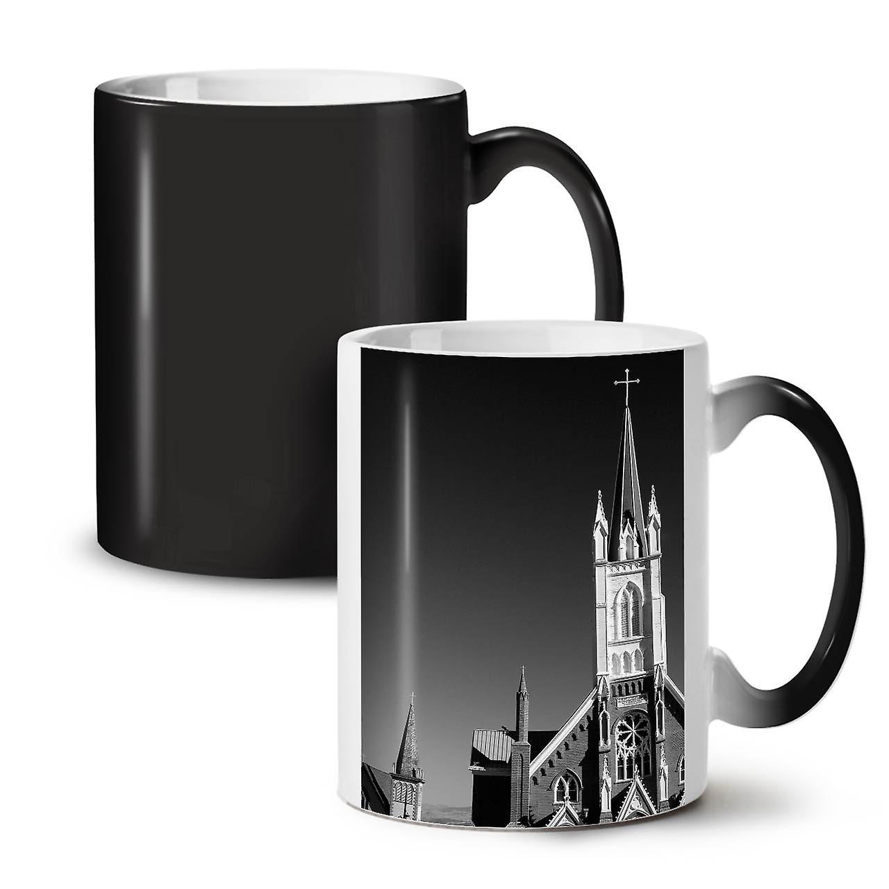 Colour Coffee Changing Tea Mug 11 New Christianity Church Black Ceramic OzWellcoda yN8mn0wOvP