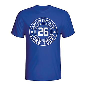 John Terry Chelsea Captain Fantastic T-shirt (blue)