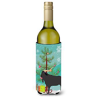 Verata Ziege Weihnachten Weinflasche Beverge Isolator Hugger
