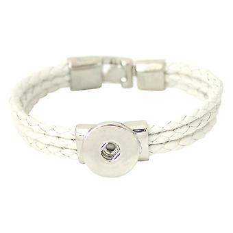 Leather Bracelet For Click Buttons Kb0963