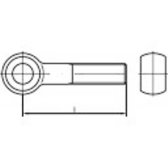 Eye bolts M6 50 mm DIN 444
