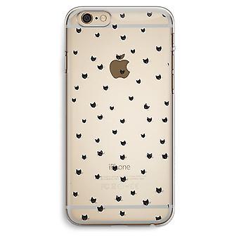 iPhone 6 Plus / 6S Plus transparant Case (Soft) - kleine katten