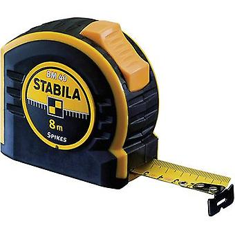 Tape measure 8 m Steel Stabila BM 40 17745