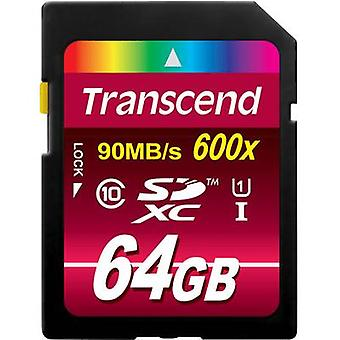 SDXC card 64 GB Transcend Ultimate Class 10, UHS-I