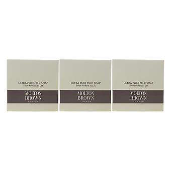 Molton Brown Ultra Pure Milk Soap 1.76oz/50g New In Box (Pack Of 3)