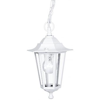 Eglo Lanterna4 1 Light Outdoor Lantern Pendant White IP33