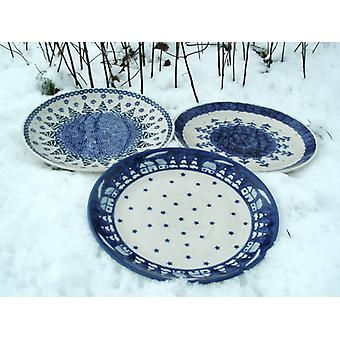 3 dinner plates, ø 26 cm, winter, BSN S-008