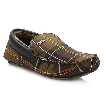 Barbour Mens Check Monty Classic Slippers