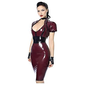 Westward Bound Eva Pencil Latex Rubber Skirt.