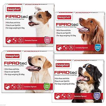 FIPROtec solución Spot-On para perros grandes 5 tratamientos
