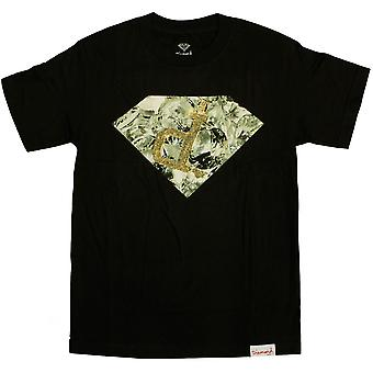 Diamond Supply Co Ben Baller T-shirt schwarz glänzend