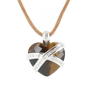 Heartbreaker by Dragon rock ladies silver pendant chain LR ON 45
