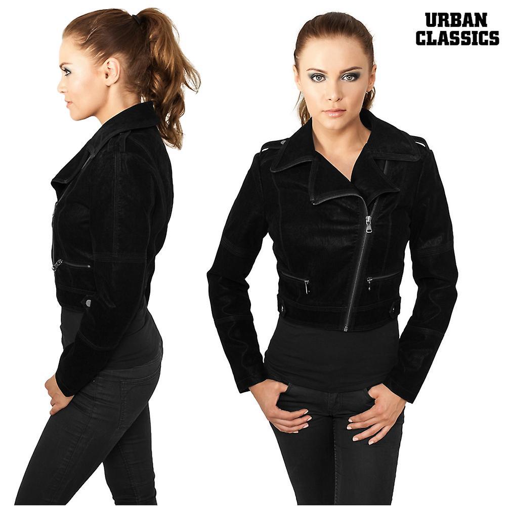 Veste Les dames urbaines classiques de biker courtes