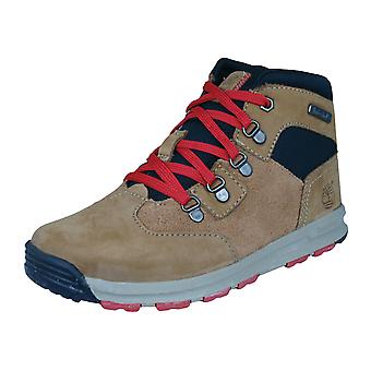 Timberland Scramble EK Boys Leather Boots - Light Brown