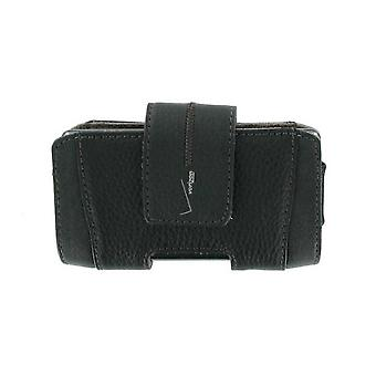 Verizon Universal Horizontal Pouch with magnetic closure for Smartphone - Black