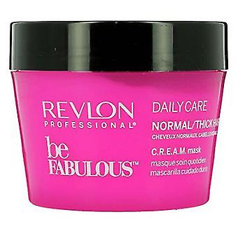 Revlon Be Fabulous Daily Care Normal Mask 200 ml (Hair care , Hair masks)