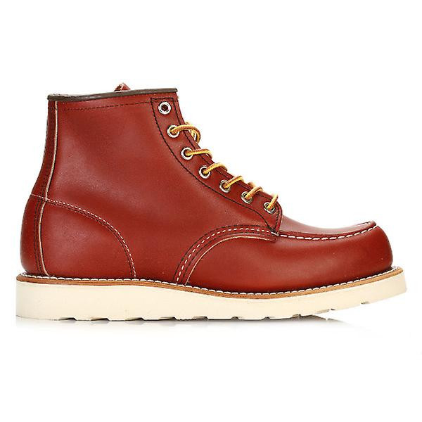 Red Wing Shoes Moc Mens Oro Russet Portage 6-Inch Moc Shoes Toe Boots 7cf8a0