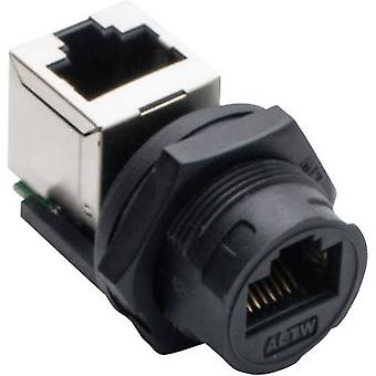Amphenol LTW 2610-0402-01 Sensor/actuator data cable Socket, straight, Socket, right angle No. of pins (RJ): 8P8C 1 pc(s)