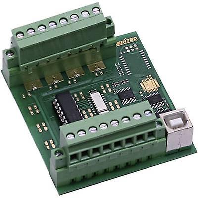 GPI module Deditec USB-OPTOIN-8_B USB No. of digital inputs  8