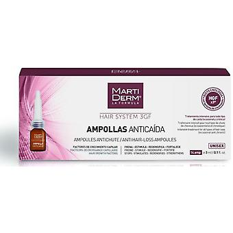 Martiderm Ampoules Anticaida Hair System 14 Units (Hair care , Treatments)
