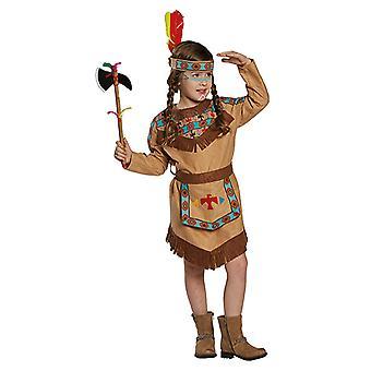 Indianerin Squaw Western Rothaut Kinderkostüm