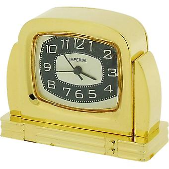 Gift Time Products Fifties TV Miniature Clock - Gold
