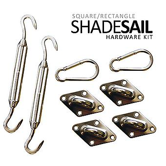 California Sun Sail Shade Hardware Kits - Quadrilateral Kit