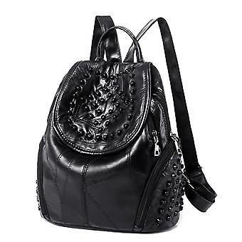 Backpack in genuine sheepskin, LAMM976
