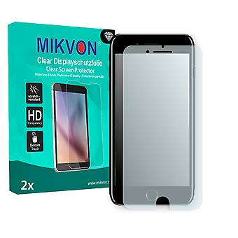 Apple iPhone 8 Plus Screen Protector - Mikvon Clear (Retail Package with accessories) (reduced foil)