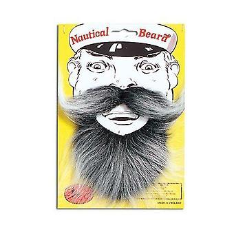 Nautical Beard. Grey.
