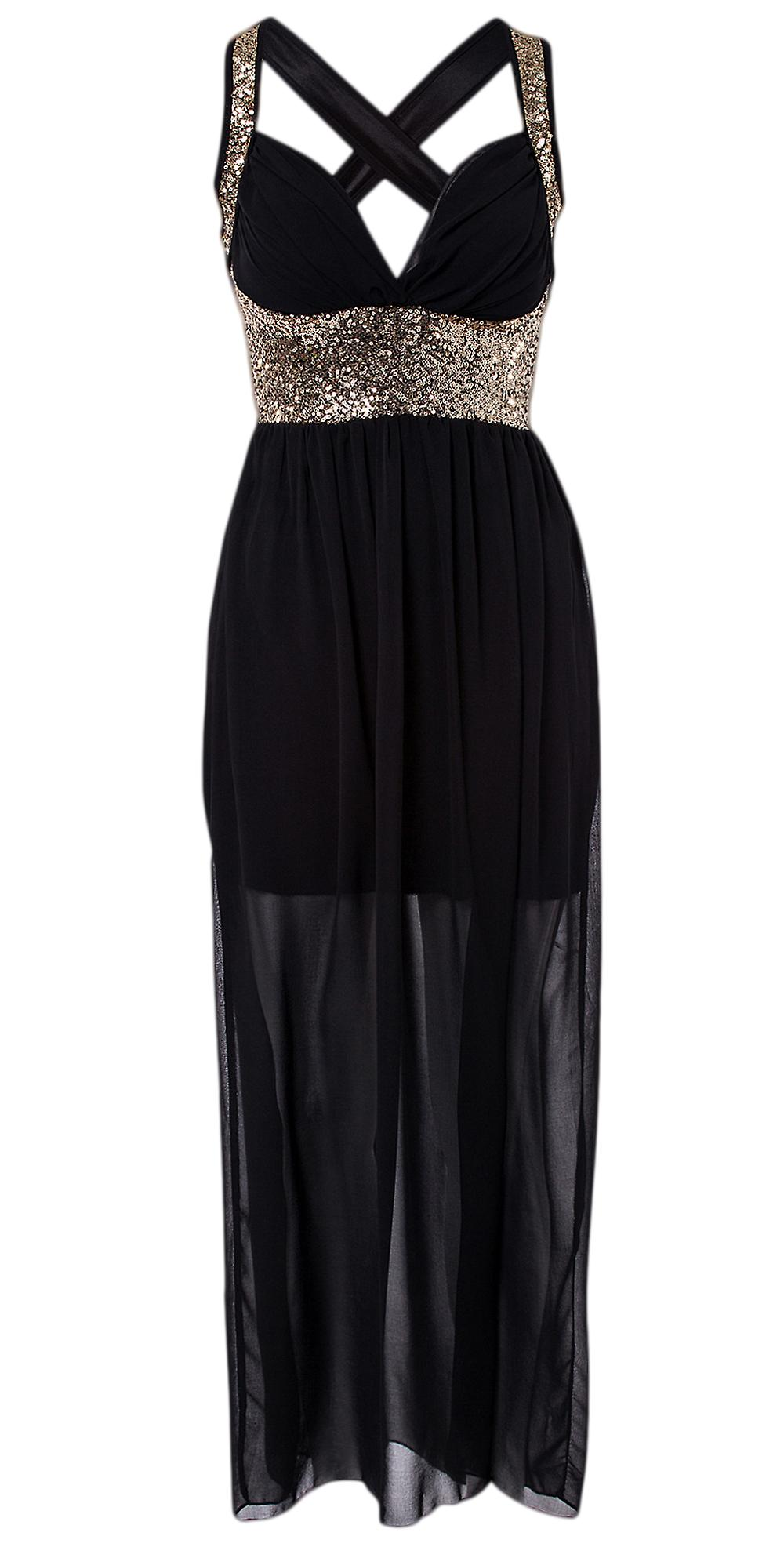 Waooh - Dress With Sequins Strapless A Curuid
