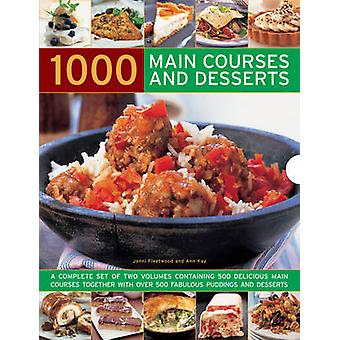 1000 Main Courses and Desserts - A Complete Set of Two Volumes Contain