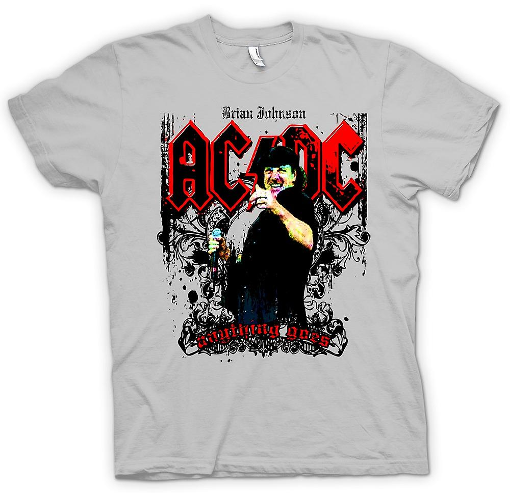 Herr T-shirt - AC/DC - Brian Johnson