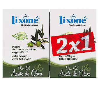 Lixone Aceite Oliva Jabón Piel Seca 2 X 125 Gr Unisex