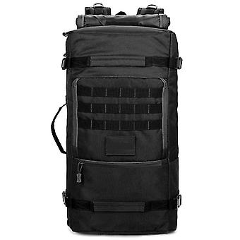 Large backpack in black, 68x33x22 cm DSY