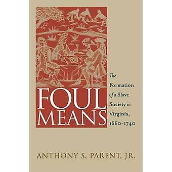 Foul Means - The Formation of a Slave Society in Virginia - 1660-1740