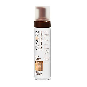 St. Moriz Advanced Pro 5 In 1 Tanning Mousse ~ Medium