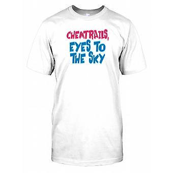 Chemtrails Eyes to the Sky - Conspiracy Mens T Shirt