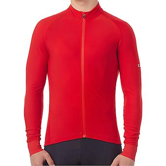 Giro Bright Red 2017 Chrono Long Sleeved Cycling Jersey