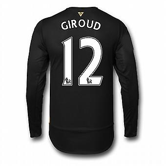 2015-16 Arsenal 3. Cup-Langarm-Shirt (Giroud 12) - Kids