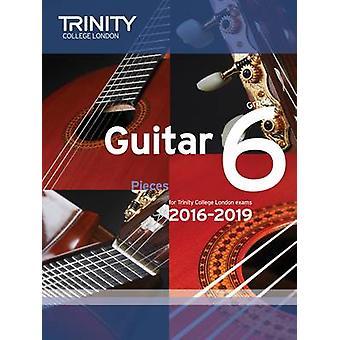 Guitar Exam Pieces Grade 6 2016-2019 by Trinity College London - 9780