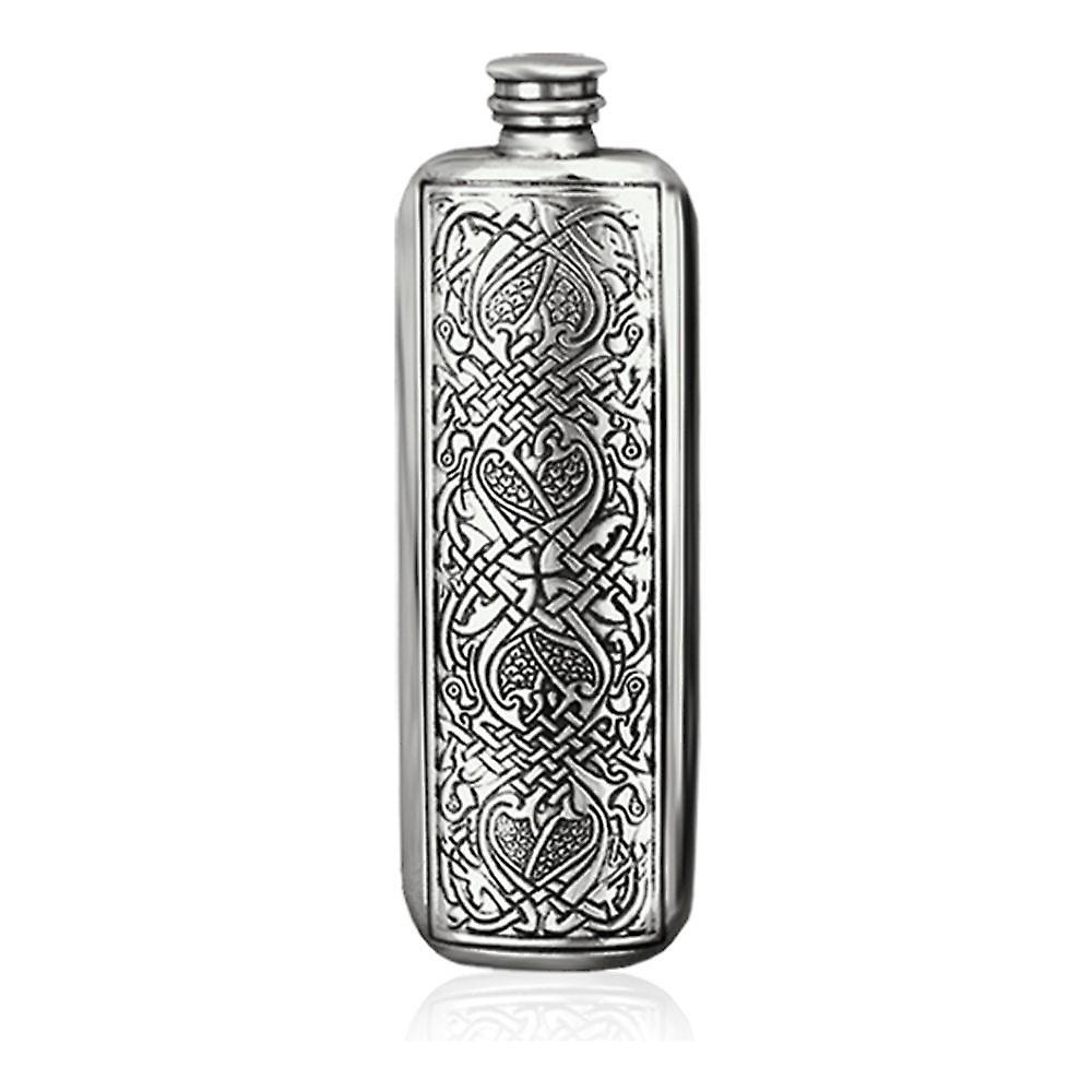 3Oz Top Pocket Celtic Flask Pewter - Sf238