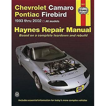 Chevy Camaro/Firebird 93-02 by HAYNES - 9781563925566 Book